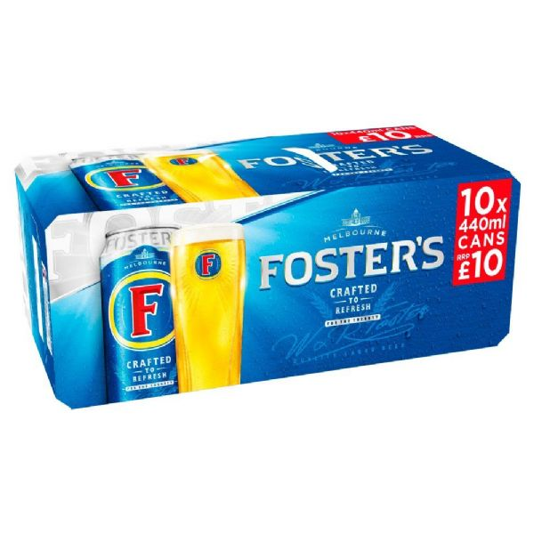 Fosters 10x440ml Cans